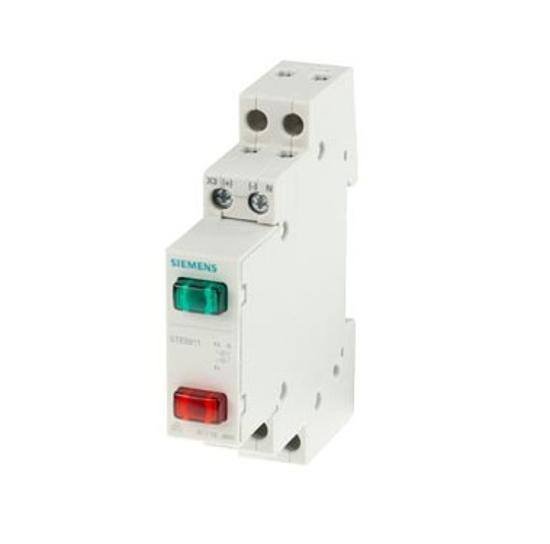 Immagine di Indicatore luminoso 2x LED, 230 V rosso verde
