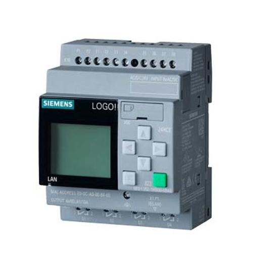 Immagine di LOGO! 24RCE, modulo logico,display SV/I/O: 24V AC/DC 24V/relè, 8 DI/4 DO