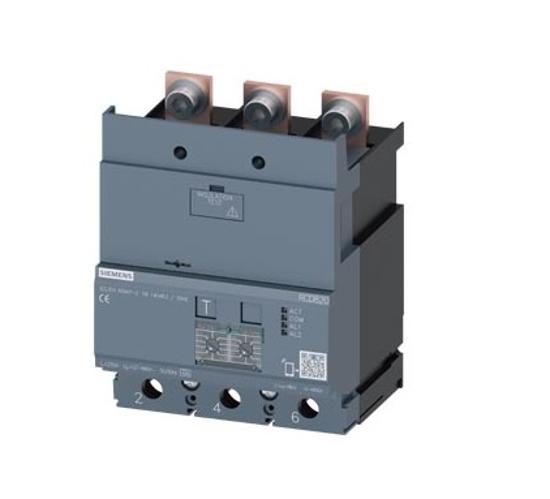 Immagine di Dispositivo di protezione differenziale RCD820 Advanced RCD Tipo A montato in basso corrente di guasto nominale 0,03 ... 30 A
