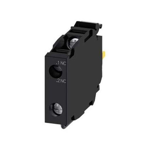 Immagine di Modulo LED con LED integrato AC/DC 24 V, giallo, morsetti a molla, per fissaggio su piastra frontale, min. quantità ordinabile 5 o un suo multiplo