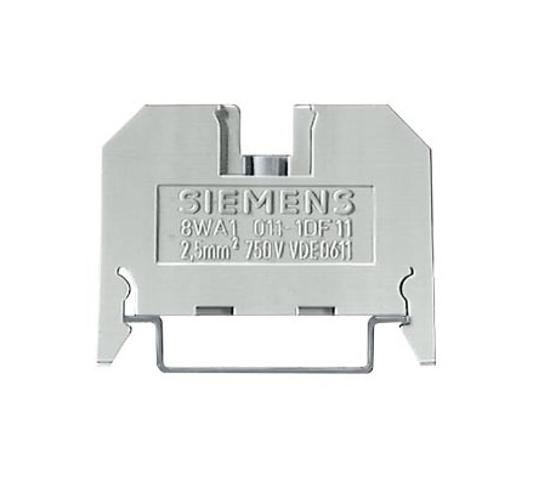 Immagine di Morsetto passante in materiale termoplastico morsetti a vite su entrambi i lati morsetto singolo, 6mm, gr. 2,5
