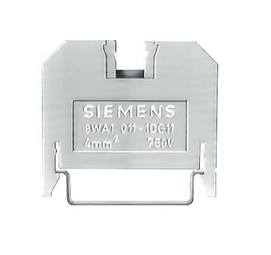 Immagine di Morsetto passante in materiale termoplastico morsetti a vite su entrambi i lati morsetto singolo, 6,5 mm gr. 4