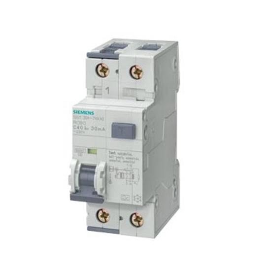Immagine di Interruttore magnetotermico differenziale, 10 kA, 1P+N, Tipo AC, 300 mA, Car. C, In: 25 A, Un AC: 230 V