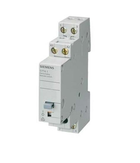 Immagine di Interruttore con comando a distanza con 2 contatti NO, contatto per AC 230V, 400V 16A comando in AC 24V