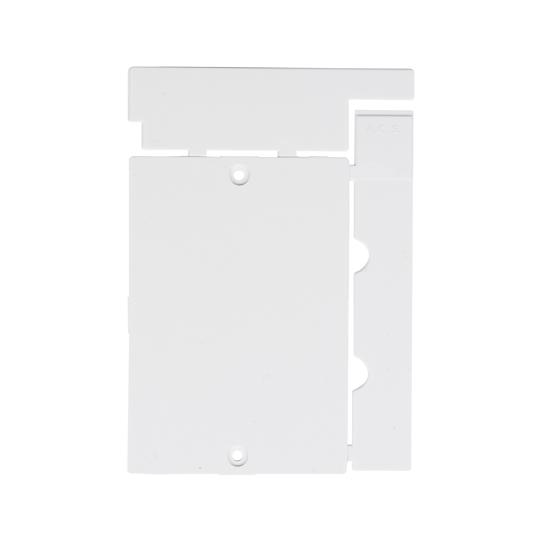 Immagine di Targa quadro tipo 1 bianco